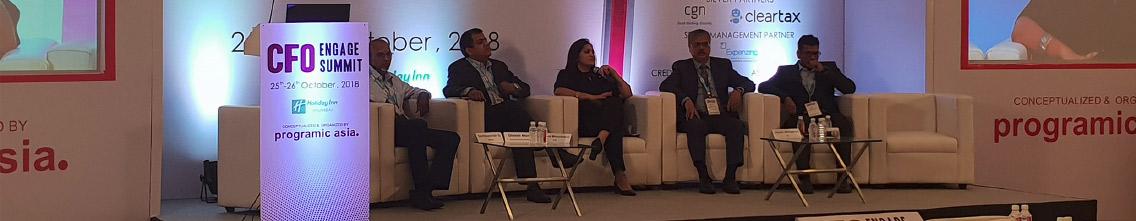 CFO Engagement Summit - Panel - October 2018